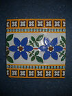 Vintage Victorian Minton & Co Stoke On Trent English Tile - Circa 1875