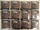 12 Sets Bulk NITRO LIME Aurora Color Coated Acoustic Guitar Strings 10 48 Steel