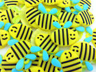 HOT 50PCS BEE Rubber Charms For Rainbow Loom Bands for bracelet