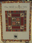 The Wild Grape Inn Quilt Pattern by June Pease for Red Rooster Fabrics