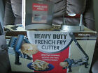 HAMBURGER & FRENCH FRIES BUNDLE, BURGER PRESS AND A HEAVY DUTY FRENCH FRY CUTTER