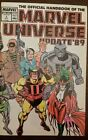 Marvel: the Official Handbook of the Marvel Universe update '89'. August  1989