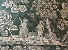 Pierre Deux Green La Declaration French Country Toile Fabric