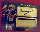TAIWAN JONES 2011 TOPPS INCEPTION ROOKIEGREEN AUTO JUMBO PATCH SHORT PRINT 2 50