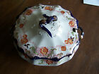 Antique  Wedgwood Round Soup Tureen Hand-Painted