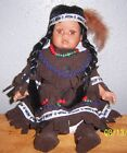 GOLDENVALE 1-2000 PORCELAIN INDIAN DOLL (329)