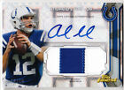 Andrew Luck 2013 Topps Finest Football JUMBO PATCH & AUTOGRAPH X-FRACTOR # 15