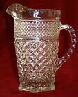 Vintage Collectible Anchor Hocking Glassware Large Wexford Pitcher Excellent x3!