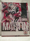 Curtis Martin Signed New York Jets Bronko Nagurski Football NFL Photo