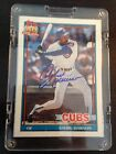Andre Dawson Autographed Card