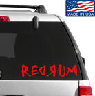 REDRUM Decal Sticker BUY 2 GET 1 FREE Choose Size  Color