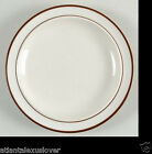 6x Elegance II Bread & Butter Bavarian Brown Stoneware Collection Japan 6.5 Six