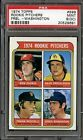 1974 TOPPS #599 ROOKIE PITCHERS FREISLEBEN WASHINGTON PSA 9 OC *7082