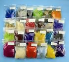 5Bags Finn Raccoon Tail Piece - For Fly Tying from 23Colors Choose