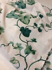 Ivy Queen Bed Skirt Dust Ruffle White Green Springs Industries