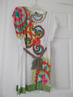 NEW TRINA TURK CARNAVAL SWIMSUIT COVER-UP DRESS, SIZE LARGE