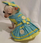 Crazy Daisy 4 Piece Harness Dress Set Dog dress dog clothes chihuahua xssm l