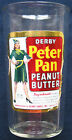 Vintage Peter Pan Derby Peanut Butter Jar with Label 12oz Empty