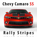 Chevrolet Camaro Ss S-sport Rally Racing Stripes Decal Kit Pre-cut 2014 - 2015