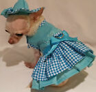 Puppy Love 4 Piece Harness dress set Dog Dress Chihuahua Yorkie xssml