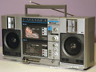 EMERSON VINTAGE BOOMBOX CTR949 DUAL CASSETTE 1980s OLD-SCHOOL PORTABLE RADIO