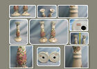 HANDPAINTED ROYAL SATSUMA CANDLESTICKS ~ 9
