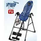 TEETER INVERSION TABLE Lower Back Exercises SCIATICA THERAPY Spine JOINT HEALTH