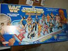 Remco WWF SHOOT OUT Hockey Tabletop Game 1991 Hulk Hogan,Ultimate Warrior,Savage