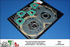 MOTO GUZZI   LEMANS I/II / 850T / T3 / T4 - 83mm   ENGINE GASKET SET