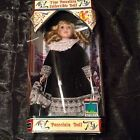 HOLIDAY SPIRIT COLLECTIBLE PORCELAIN BISQUE DOLL RARE FIND