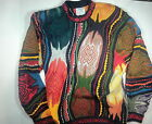 RARE  COOGI Sweater Mens L Bill Cosby AUTHENTIC Wearable Art From Australia