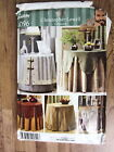 SIMPLICITY CHRISTOPHER LOWELL COLLECTION 4096 TABLE COVERS AND TOPPERS