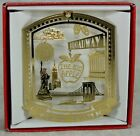 New York City Brass Christmas ORNAMENT Broadway Times Square Ball Wall St +More