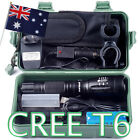 CREE XM L T6 USB LED Zoomable 2500Lm 18650 Rechargeable Battery Flashlight Torch