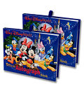 Walt Disney World Official Mickey  Gang Autograph Book Set of 2 NEW