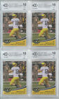 4 LOT 2012 LEAF ANDREW LUCK ROOKIE CARD BGS BCCG 10 MINT+ U.S. ARMY RC # AAB-AL1