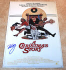 PETER BILLINGSLEY HAND SIGNED 'A CHRISTMAS STORY' 12X18 MOVIE POSTER PHOTO W COA