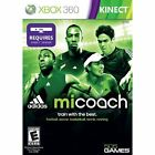 Adidas miCoach XBOX 360 KINECT NEW WORKOUT CARDIO FITNESS TRAIN BIGGEST LOSER
