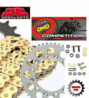 Ducati 750 Santa Monica SS 87-88 GOLD Heavy Duty X-Ring Chain and Sprocket Kit