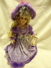 TIMELESS TREASURES VANESSA COLLECTION PORCELAIN DOLL..LIMITED EDITION-APPROX 17
