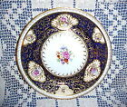 VINTAGE HAND PAINTED COBALT BLUE & GOLD PARAGON CHINA QUEEN MARY ? SALAD PLATE