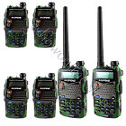 6pcs Camouflage Baofeng UV-5RA Walkie Talkie 5W 128CH UHF+VHF DTMF 2-Way Radio
