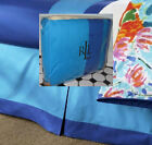 RALPH LAUREN Twin Bedskirt ISLE OF CAPRI turquoise blue