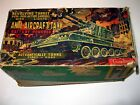 ANTIQUE #40207 CRAGSTAN ANTI-AIRCRAFT TANK POM-POM ACTION W/LIGHTS BOX ONLY