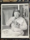 Honus Wagner Signed Picture