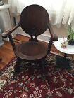 Antique Solid Wood Rocking Chair 33