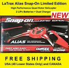 Traxxas LaTrax 6608 Alias Snap-On LIMITED EDITION Drome Quad Helicopter RTF Red