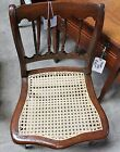 Vintage handmade Cane Bottom Chair
