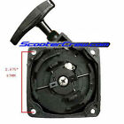 Pull Start Starter 43cc 49cc 52cc 50cc Gas Scooter Motor Scooter Recoil Part cog