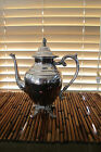 Silver Coffee Tea Pot - WILLIAM ROGERS Silver Plate Large 72 Oz. Vintage